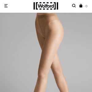 Wolford  luxe 9 tights in cosmetic